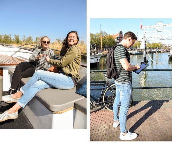 Rondvaarten Dordrecht - Sfeer